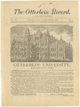 The Otterbein Record December 1883