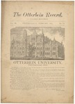 The Otterbein Record February 1883