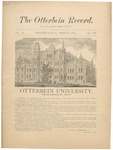 The Otterbein Record March 1883