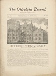 The Otterbein Record May 1883