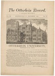 The Otterbein Record December 1882