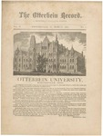The Otterbein Record March 1882