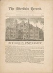 The Otterbein Record May 1882