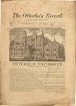 The Otterbein Record November 1882