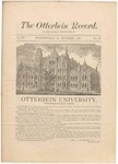 The Otterbein Record October 1882