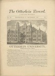 The Otterbein Record September 1882