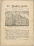 The Otterbein Record June 1881