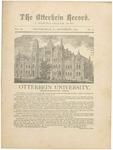 The Otterbein Record November 1881