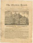 The Otterbein Record September 1881