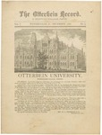 The Otterbein Record December 1880