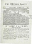 The Otterbein Record November 1880