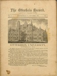 The Otterbein Record October 1880