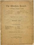 The Otterbein Record September 1880