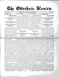 The Otterbein Review January 25, 1915