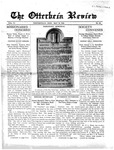 The Otterbein Review May 10, 1915 by Archives