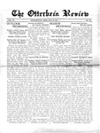 The Otterbein Review May 31, 1915 by Archives