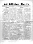 The Otterbein Review September 20, 1915