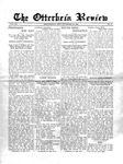 The Otterbein Review September 27, 1915