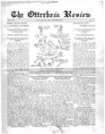 The Otterbein Review October 25, 1915