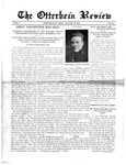 The Otterbein Review January 12, 1914