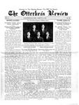 The Otterbein Review March 16, 1914