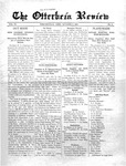 The Otterbein Review October 5, 1914