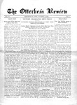 The Otterbein Review October 12, 1914