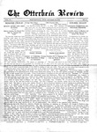 The Otterbein Review October 19, 1914 by Archives