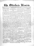 The Otterbein Review January 21, 1913