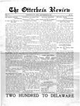 The Otterbein Review September 22, 1913 by Archives