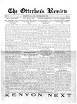 The Otterbein Review September 29, 1913