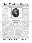The Otterbein Review November 10, 1913