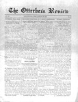 The Otterbein Review January 29, 1912