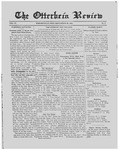 The Otterbein Review September 23, 1912 by Archives