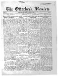 The Otterbein Review October 7, 1912 by Archives