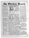 The Otterbein Review October 14, 1912