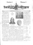The Otterbein Review November 20, 1911