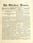 The Otterbein Review January 17, 1910