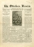 The Otterbein Review March 21, 1910