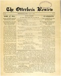 The Otterbein Review October 31, 1910
