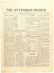 The Otterbein Review May 3, 1909