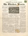 The Otterbein Review October 11, 1909