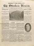 The Otterbein Review October 18, 1909