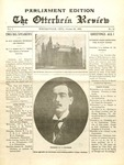 The Otterbein Review October 25, 1909