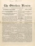 The Otterbein Review November 1, 1909