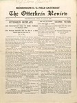 The Otterbein Review November 8, 1909
