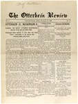 The Otterbein Review November 15, 1909