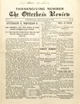 The Otterbein Review November 22, 1909
