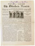 The Otterbein Review November 29, 1909