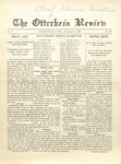 The Otterbein Review December 6, 1909